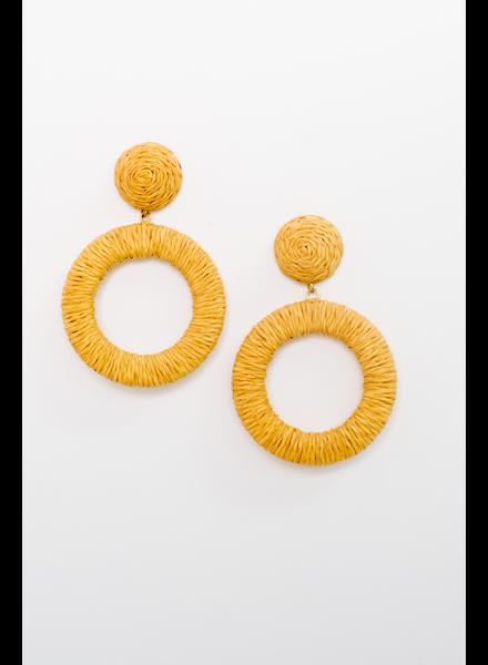 Accessories Woven O Earrings