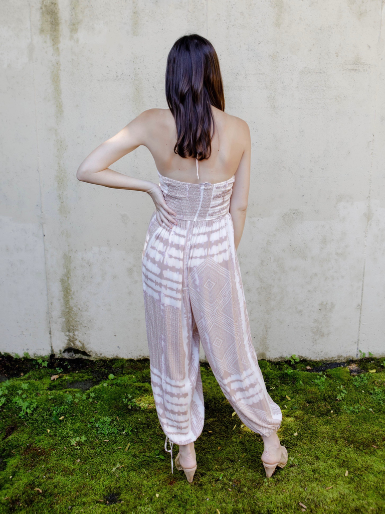 Jumpsuit Boho Strapless Jumpsuit