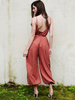 Jumpsuit Rust Open Back Jumpsuit