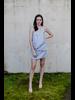 Mini Draped Halter Dress