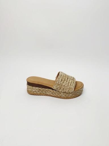 Sandal Straw Woven Sandal