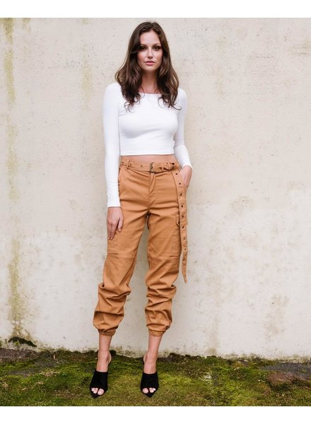 Pants Belted Cargo Pants