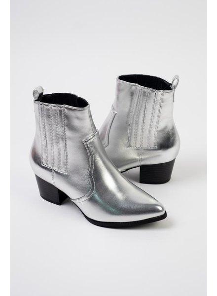 Bootie Silver Western Bootie