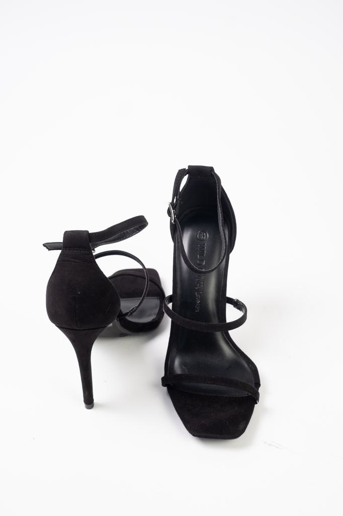 Pump Black Triple Strap Pump