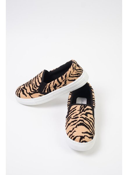 Flat Tiger Slip-On Sneaker