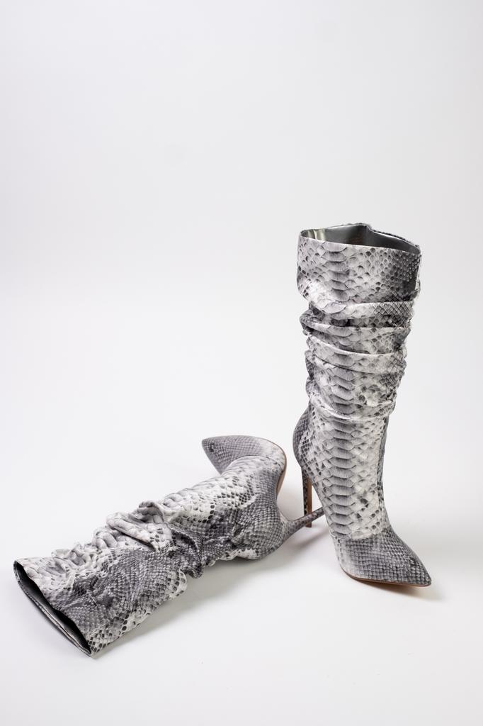 Boot Slouchy Snake Boots