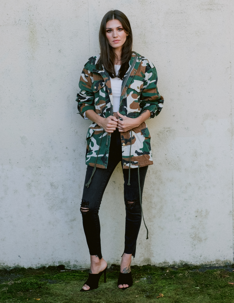 Lightweight Army Girl Jacket