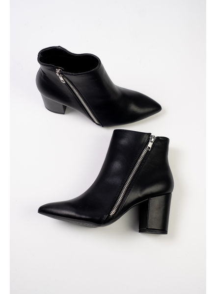 Bootie Side Zip Everyday Bootie