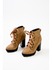 Boot Block Heeled Army Boot