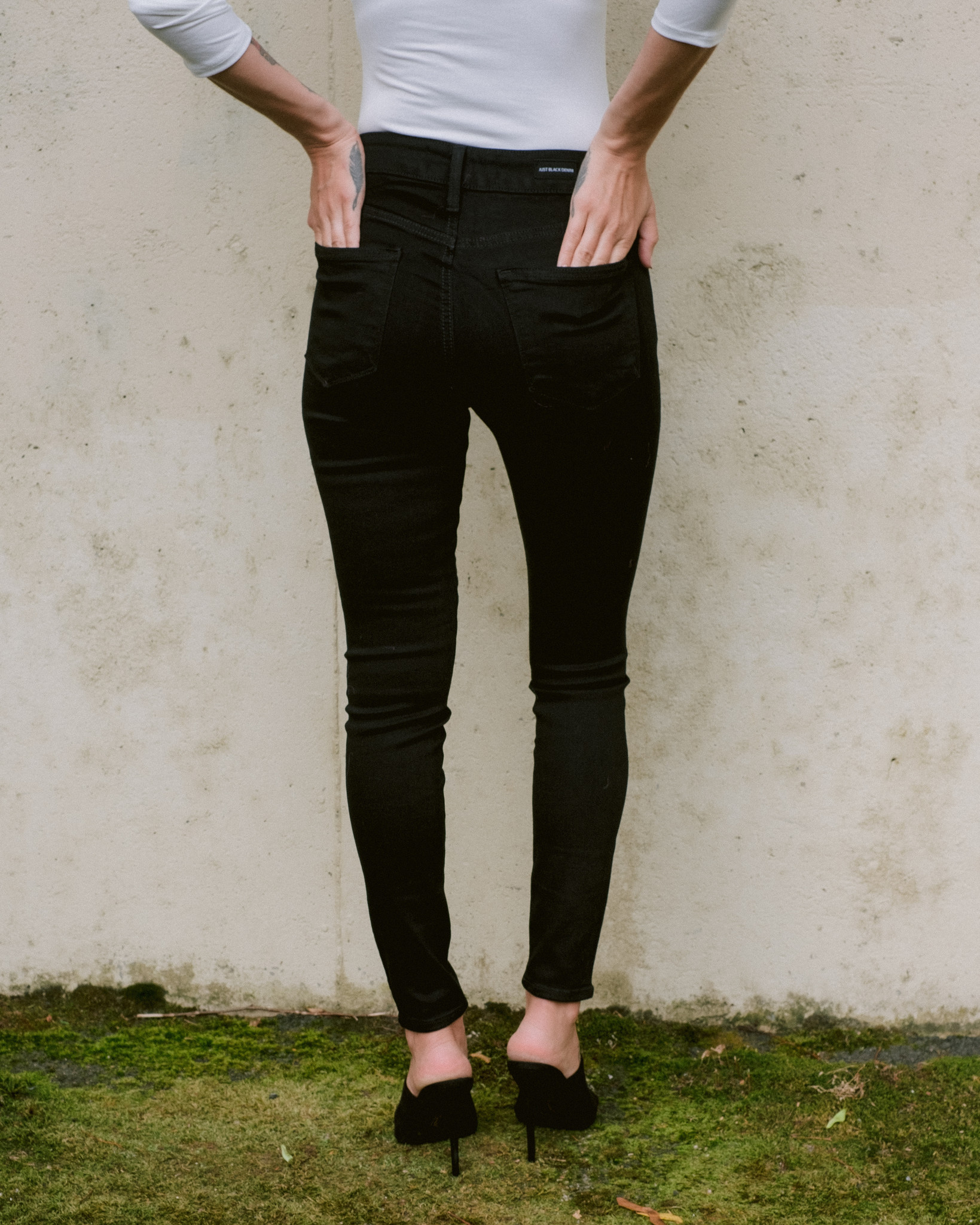 Jeans Black High Rise Skinny