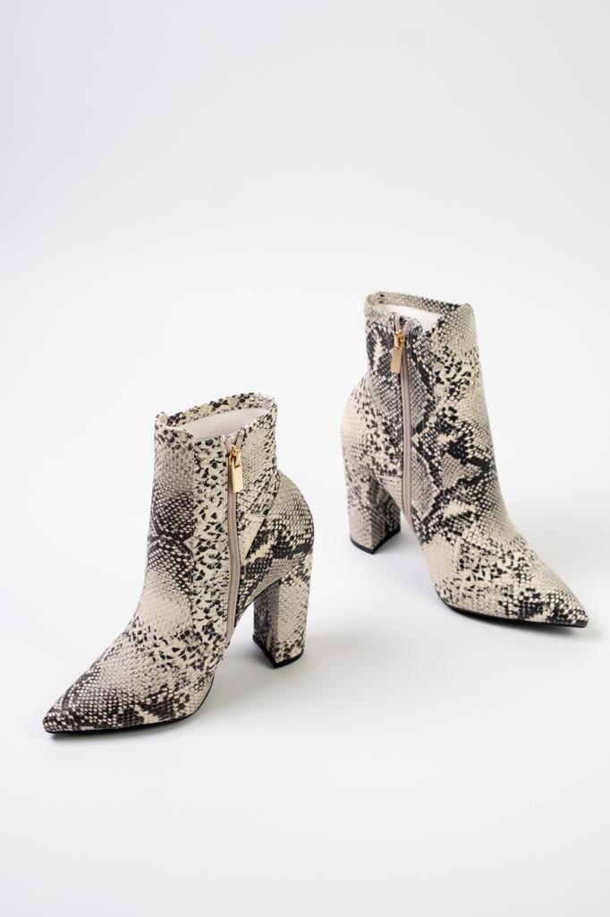 Bootie Must Have Snake Sock Bootie