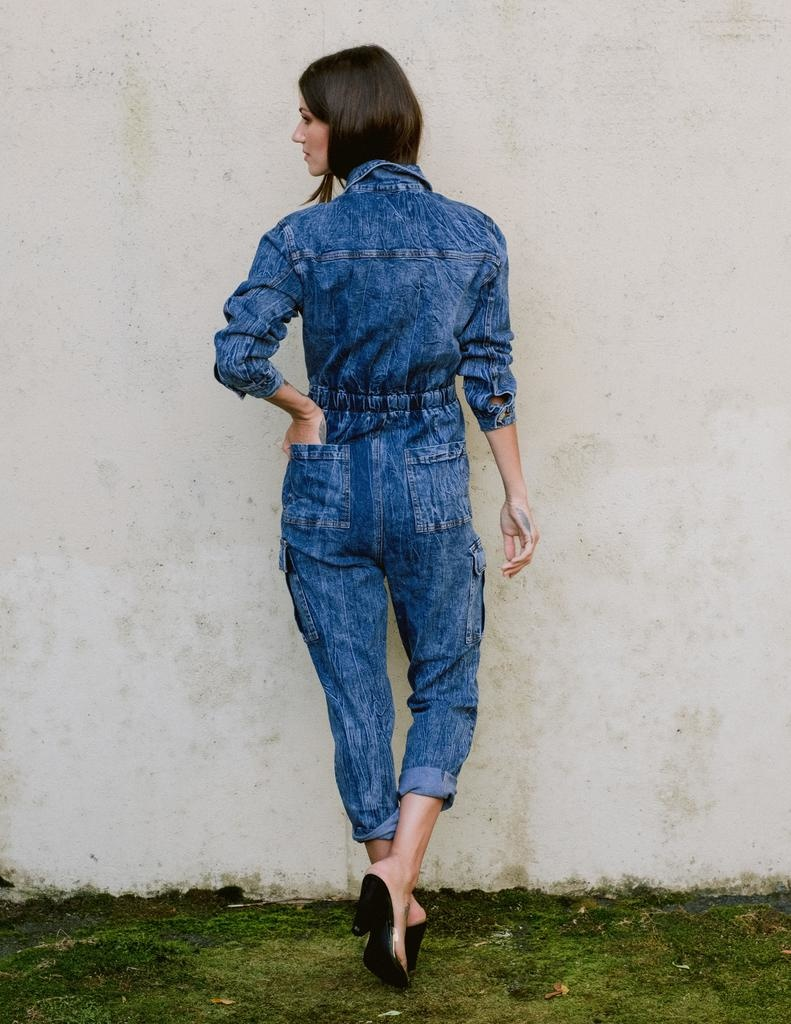 Jeans Denim Utility Suit