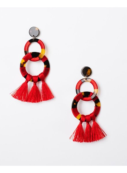 Trend Red Tortoise Hoops
