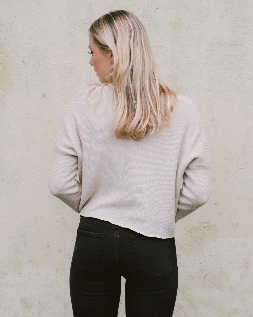 Sweater Twist Front Sweater