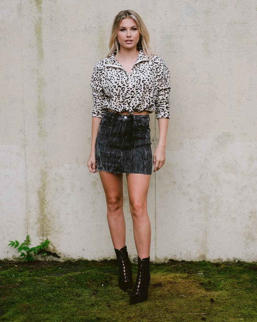 Sweatshirt Jungle Fleece