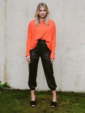 Sweater Orange Crush Knit