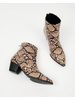 Bootie Snake Ankle Bootie