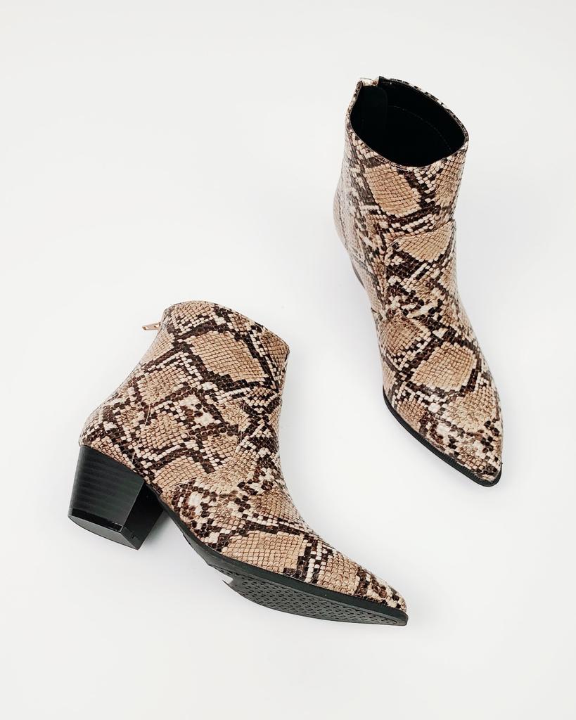 Bootie Dotted Leopard Bootie