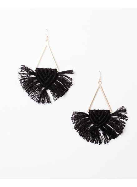 Trend Geometric Threaded Earrings