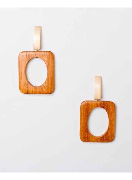 Trend Sixties Geo Drop Earrings