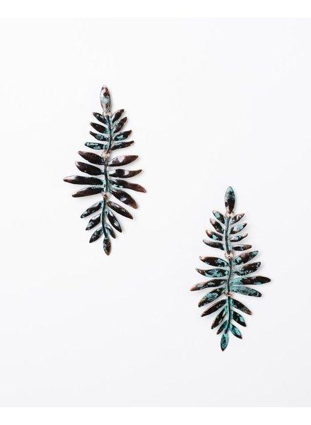 Trend Drop Fern Earrings