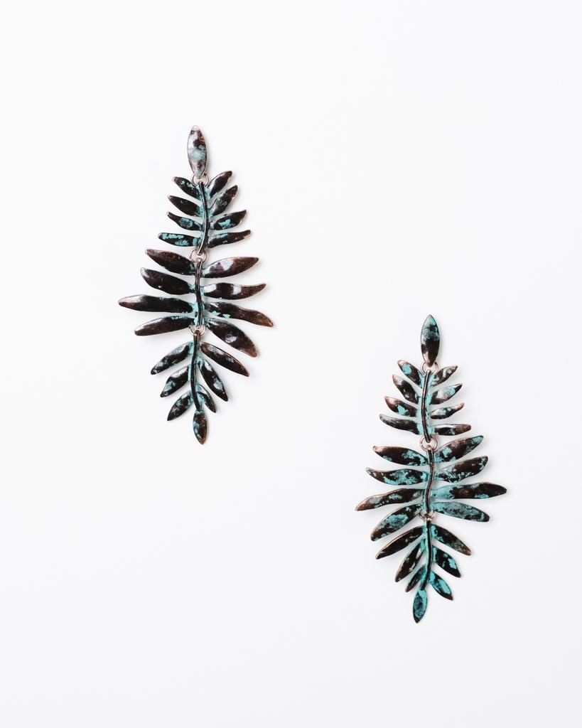 Trend Drop Fern Earrings