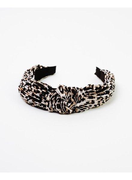 Headband Leopard Knot Headband