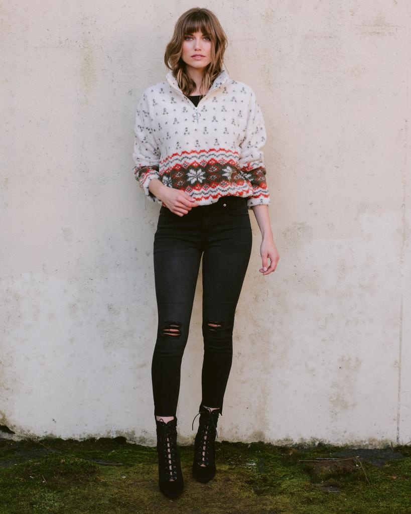 Sweatshirt Aztec Pullover