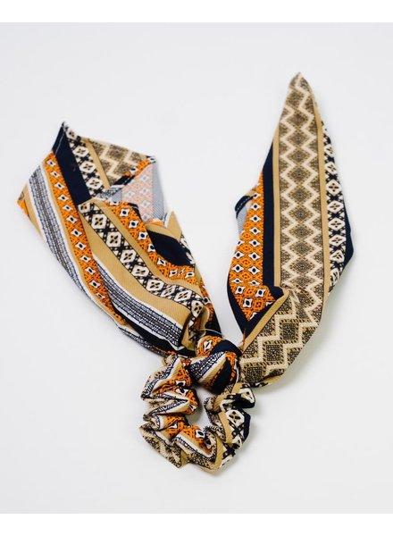 Accessories Printed Scarf Scrunchie