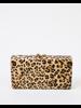 Clutch Leopard Structureed Clutch