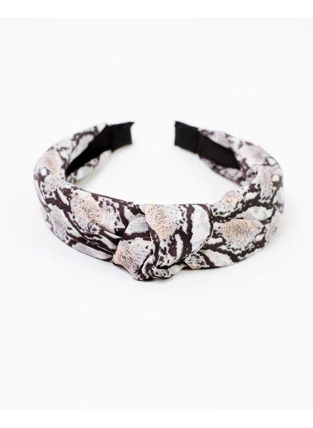 Headband Snake Knotted Headband
