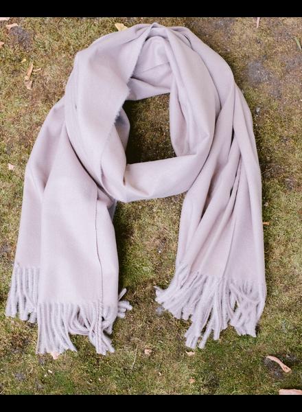 Scarf Taupe Woolen Pashmina