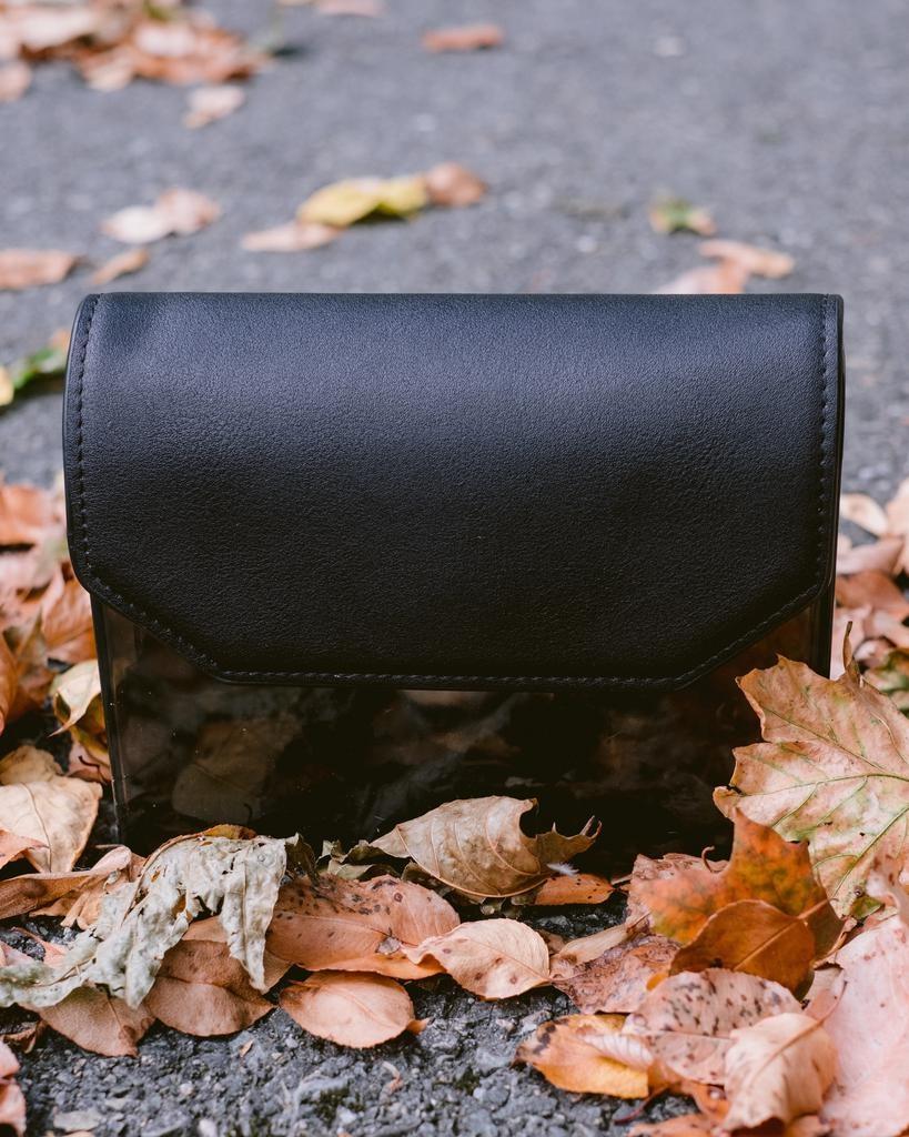 Cross-body Black Box Clutch