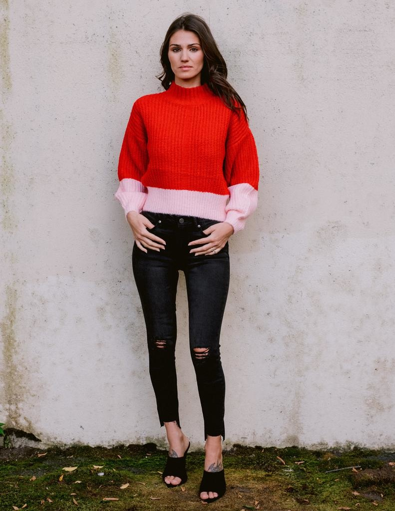Sweater Love Is In the Air Knit