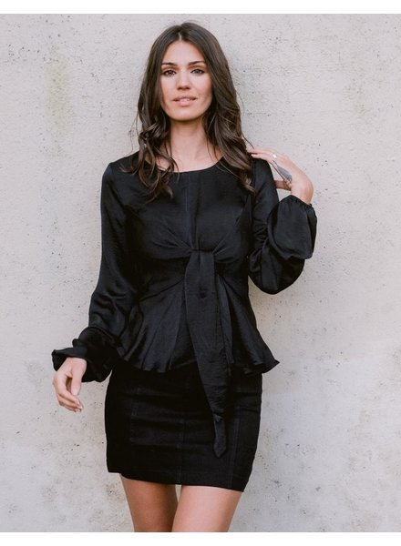 Blouse Midnight Tie Blouse