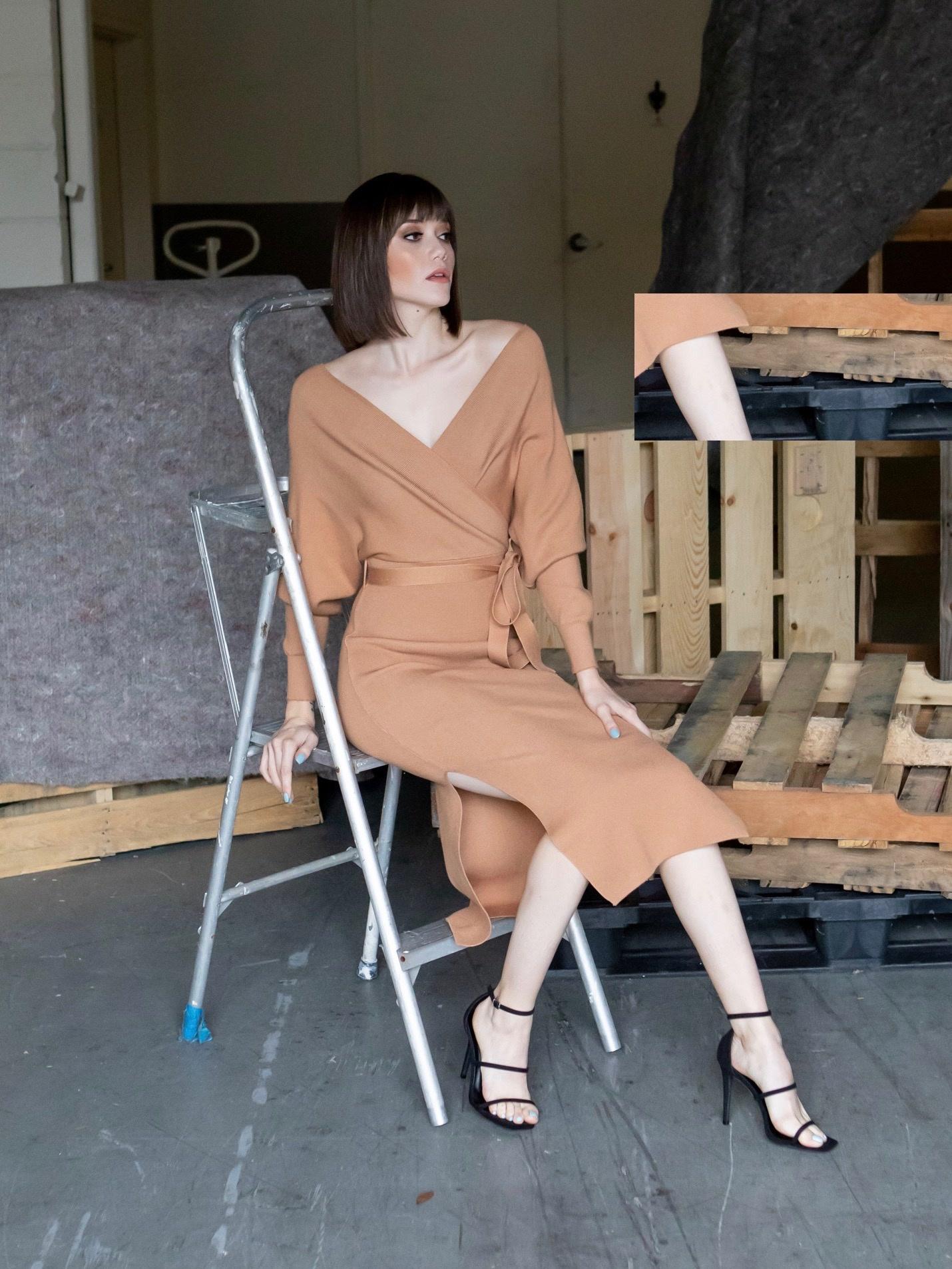 Midi Warm Up To You Sweater Dress