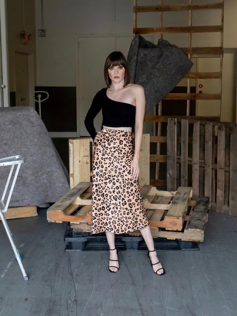 Skirt Cat's Meow Satin Skirt
