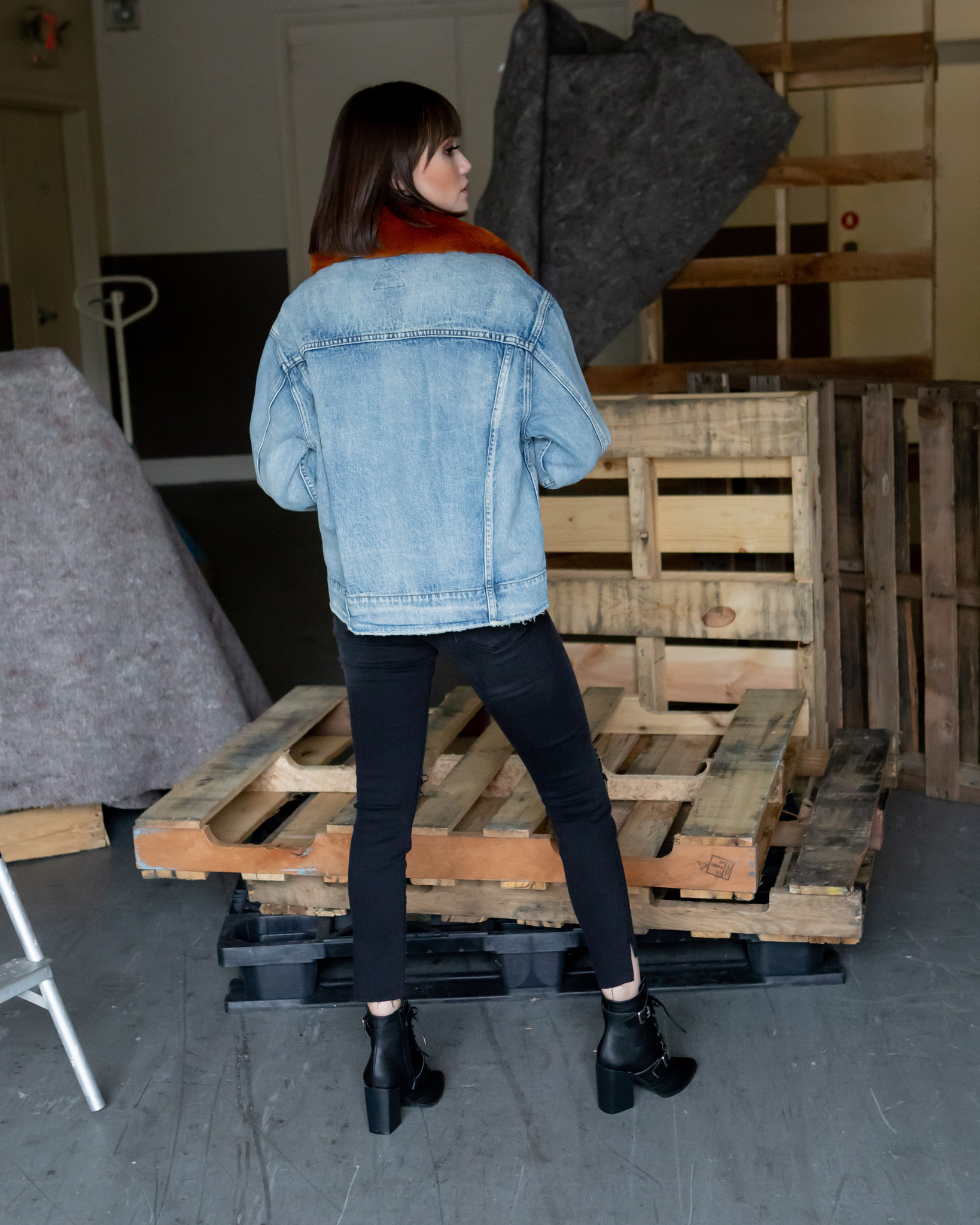 Lightweight Bourbon Denim Jacket