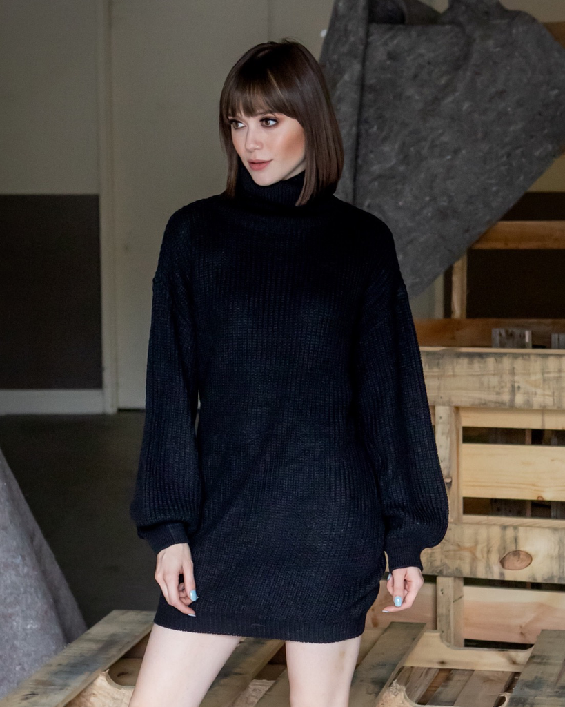 Sweater Black Sweater Dress
