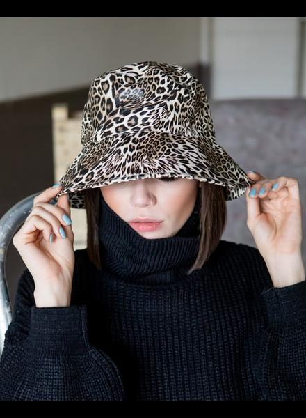 Hat Leopard Bucket Hat