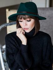 Hat Forest Flat Brim Hat