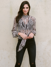 Blouse Stay Wild Blouse