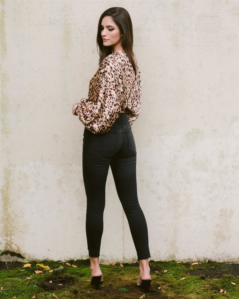 Blouse Leopard Night Out