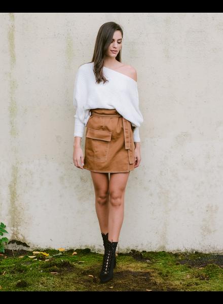 Skirt Khaki Cargo Skirt
