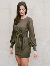 Mini Knot Yours Mini Dress