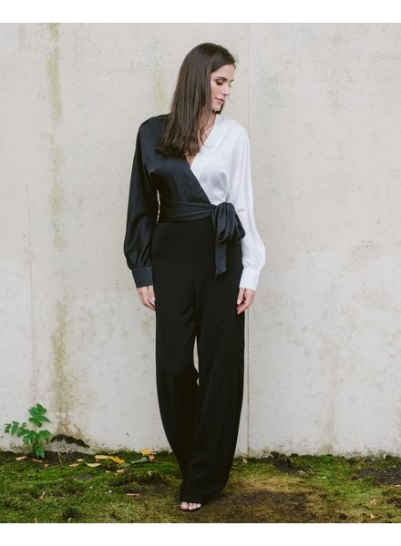 Jumpsuit Two Tone Jumpsuit