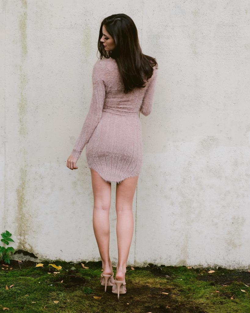 Midi Mocha Midi Dress