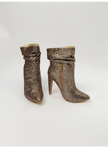 Bootie Golden Disco Booties