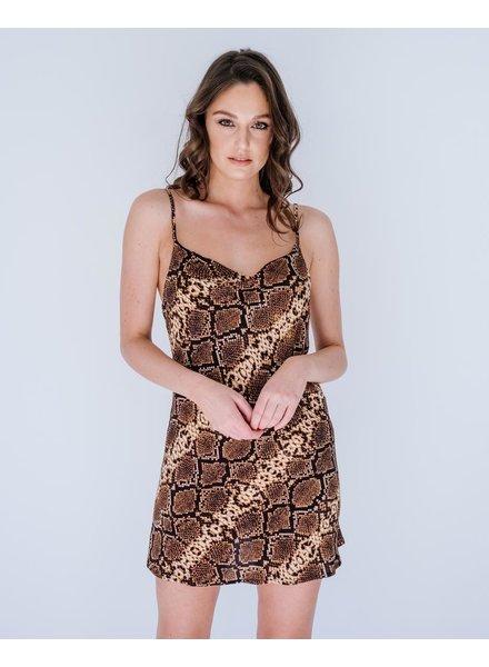 Mini Snake Mini Dress