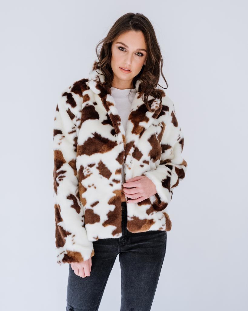 Winter Lasso You Faux Fur Jacket